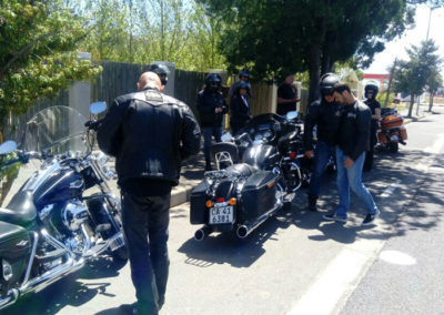 A quick head count in Villiersdorp after the Franschhoek pass