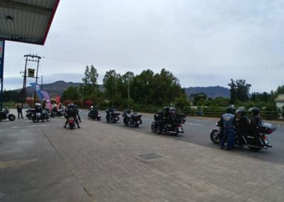 Fuel stop at Citrusdal