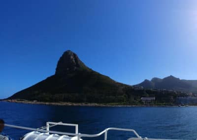 Hangberg in Hout Bay - off to see the seals