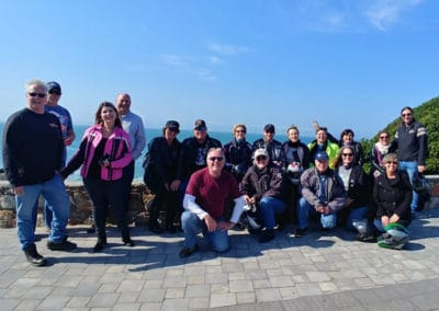 Whale Watching Tour group